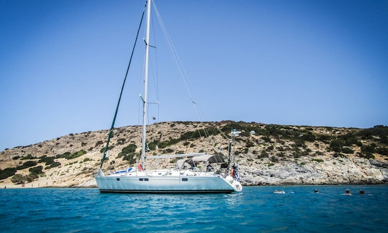 Captain Charter On 44' Beneteau Oceanis Cruising Monohull In Naxos, Greece