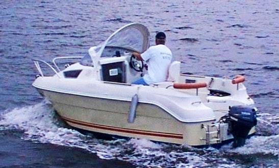 Hanne1 15hp Boat Rental In Fehmarn