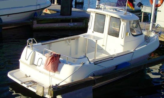 Rent The 20' Ms Dorsch Hunter Motorboat In Fehmarn