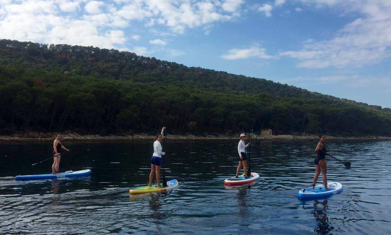 Paddleboarding is Easy and Fun in Split, Croatia!