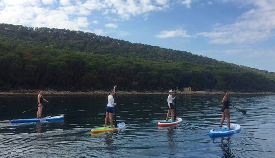 Paddleboarding Is Easy And Fun In Split, Croatia!