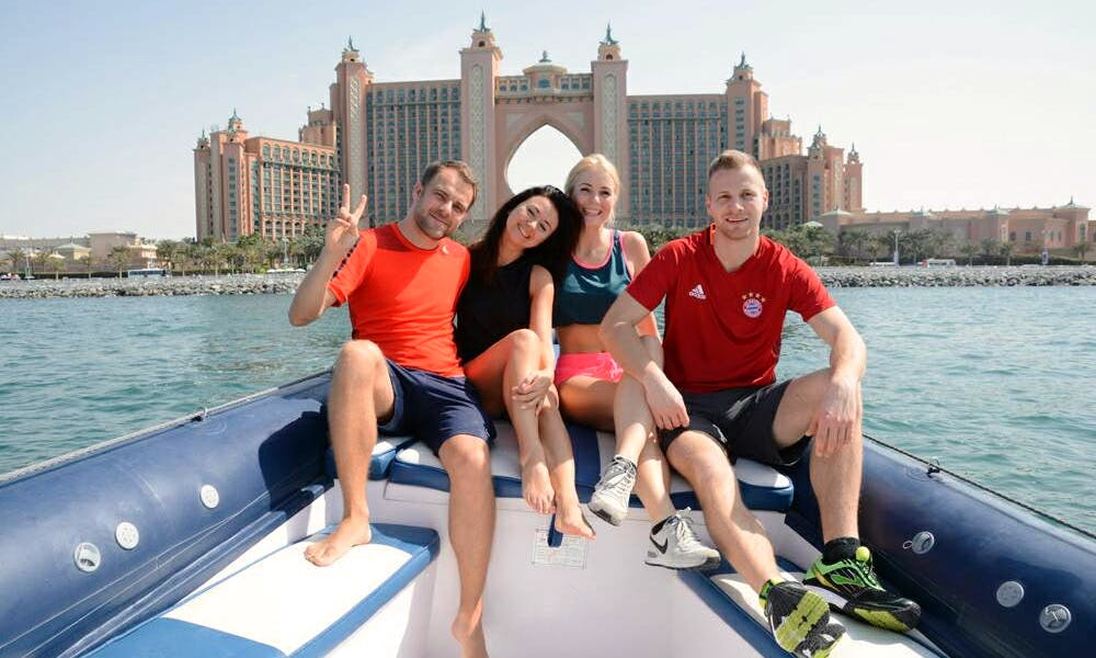 Enjoy a Jet Boat Adventure in Dubai, UAE