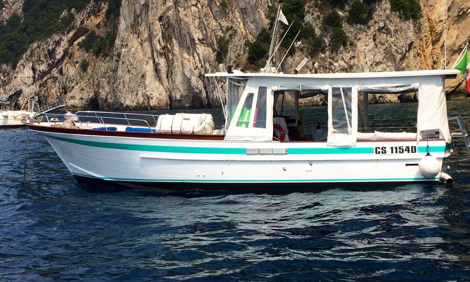 Remarkable Boat Trip Around Amalfi Coast Aboard 44' Motor Yacht