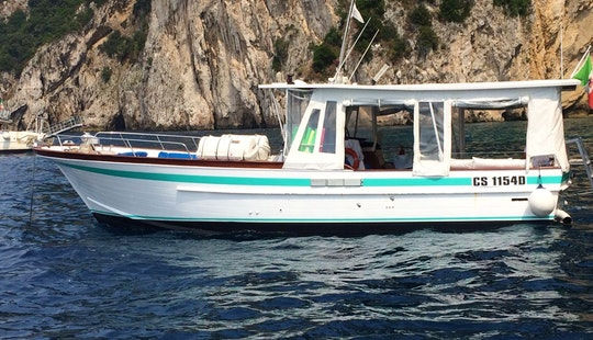 Remarkable Boat Trip Around Amalfi Coast Aboard 44' Motor Yacht