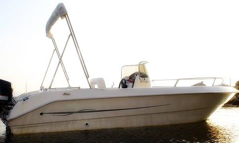 20ft Beluga Motor Boat Rental In Monte di Procida, Italy