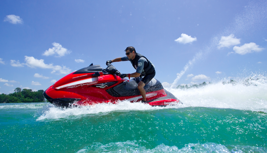 Jet Skiing In Miami