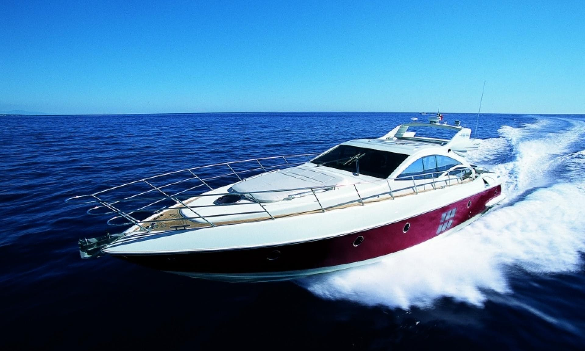 Crewed Power Mega Yacht Azimut 68'S for charter in Ibiza