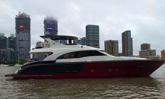 Explore Shanghai On A Motor Yacht Charter