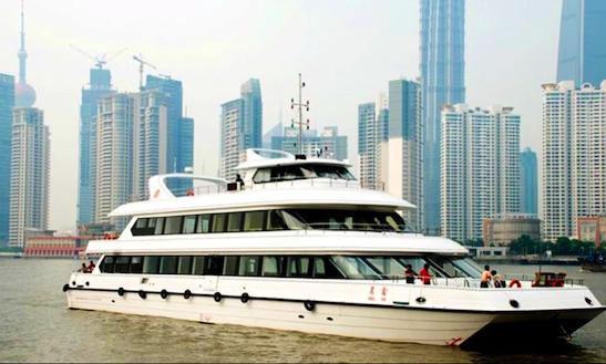 Explore Shanghai On A Passenger Boat Charter
