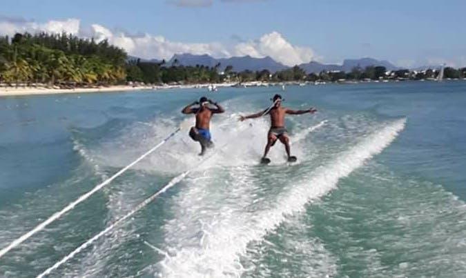 Enjoy Water Skiing in Trou-aux-Biches, Mauritius