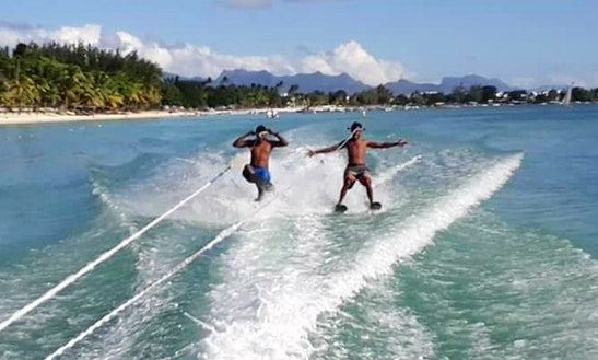 Enjoy Water Skiing In Trou-aux-biches, Mauritius