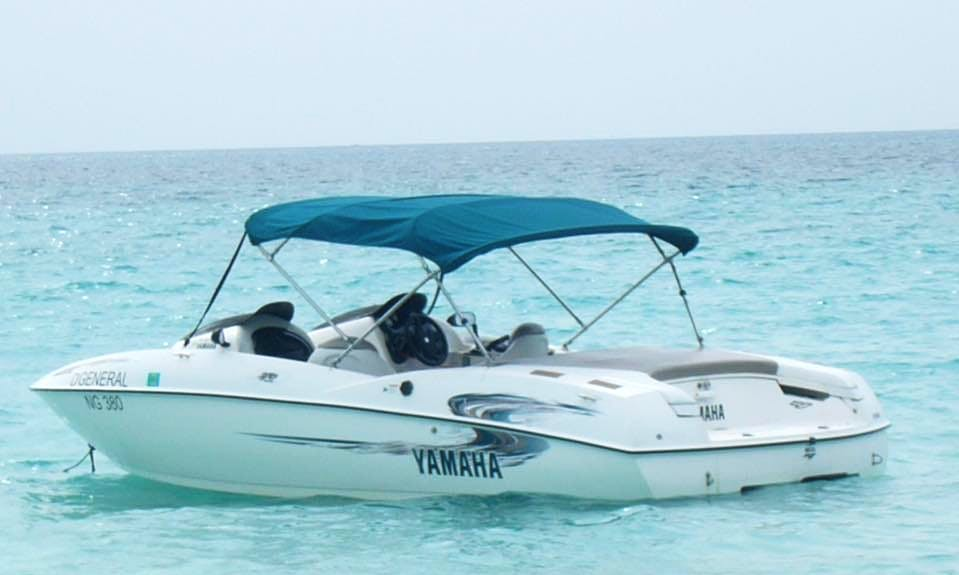 Enjoy Fishing in Negril, Jamaica on Bass Boat