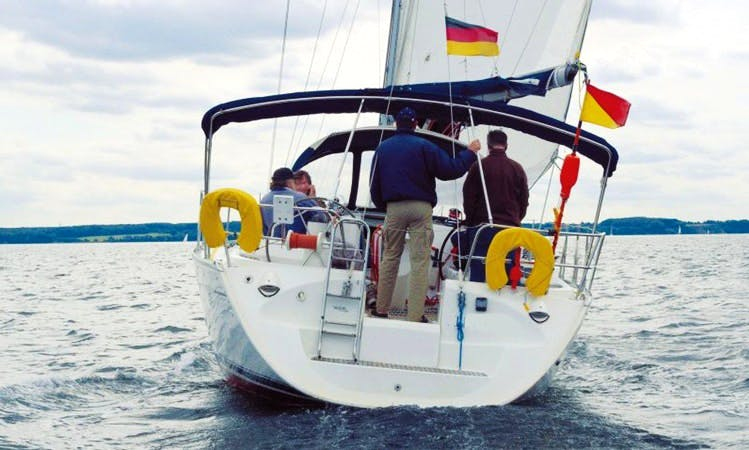 Charter 43' Jeanneau Sun Odyssey Cruising Monohull in Flensburg, Germany