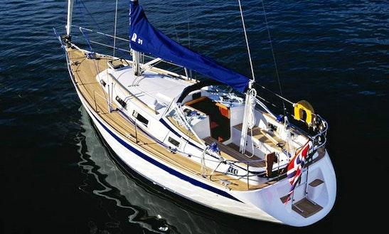 Hallberg-rassy 31 Sailing Charter In Denmark