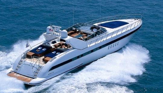 Mangusta 80 Luxury Yacht Charter In Oslo