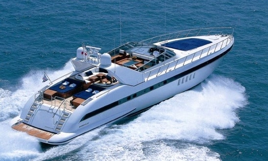 Mangusta 80 Luxury Yacht Charter In Oslo