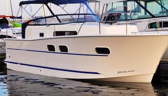 Hire The Nautika Mc Motor Yacht In Wilkasy, Poland