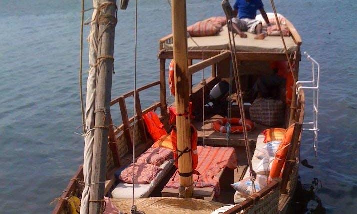 Charter a Dhow Boat in Lamu, Kenya
