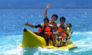 Enjoy Banana Boat Rides in Mandarmani, West Bengal