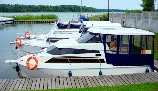 Rent 23' Calipso Motor Yacht In Warmińsko-mazurskie, Poland