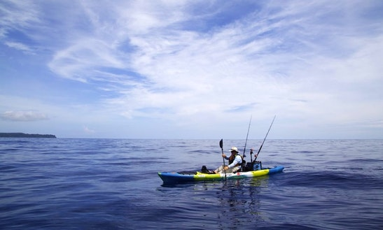 Enjoy Kayak Fishing In Quepos, Costa Rica