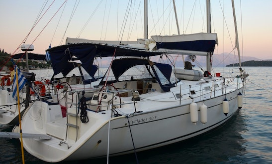 Charter Beneteau Cyclades 50.5 Sailboat In Perigiali, Greece