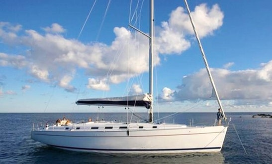 Charter A 10 Person Beneteau Cyclades Sailing Yacht In Alimos, Greece