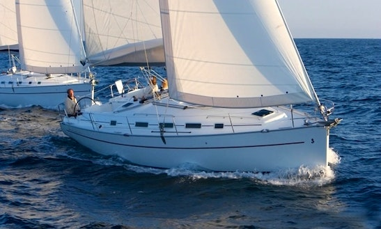 Charter This Beneteau Cyclades 39.3 Sailing Yacht In Lefkas Perigiali, Greece