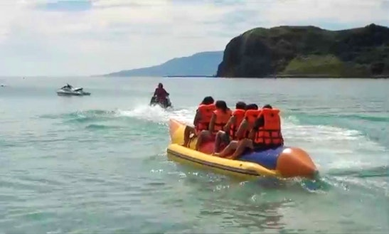 Have Fun In Malay, The Philippines On A Tubing Ride!