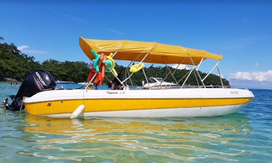 Center Console Rental In Angra Dos Reis, Brazil For Up To 14 People