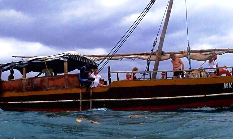 Charter a 15 person Cruising Gulet with a friendly crew in Diani Beach, Kenya
