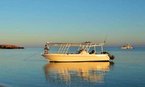 Muscat Fishing Tours on a Center Console
