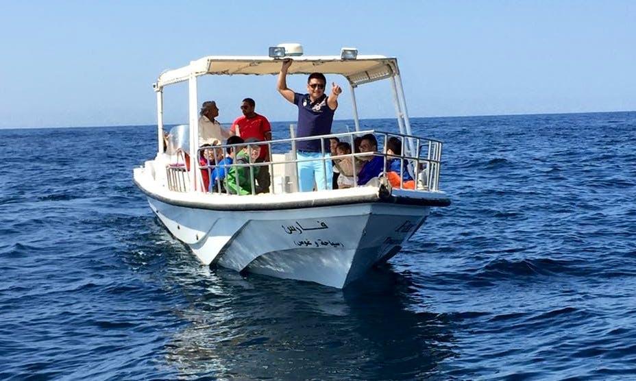 Enjoy Fishing in Muscat, Oman on a Passenger Boat