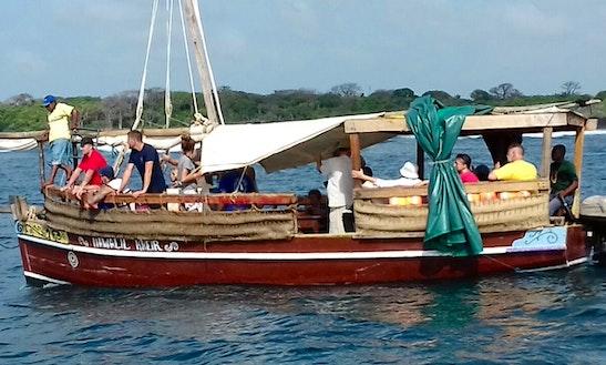 Charter A Passenger Boat In Diani Beach, Kenya