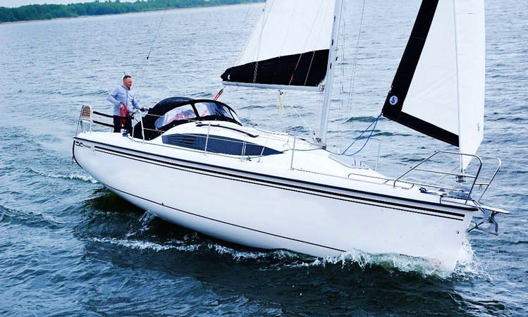 Charter a Maxus 33.1 RS Sailboat in Węgorzewo, Poland