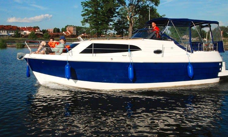 'Luxuria' Navigator 999 Yacht Charter in Giżycko