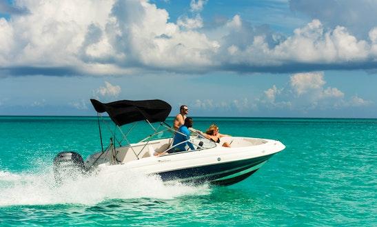 Ski Boat-sports Fisherman 180 Deck Boat For Charter