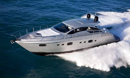 Skippered Charter On Pershing 58 Power Mega Yacht In Hong Kong Island