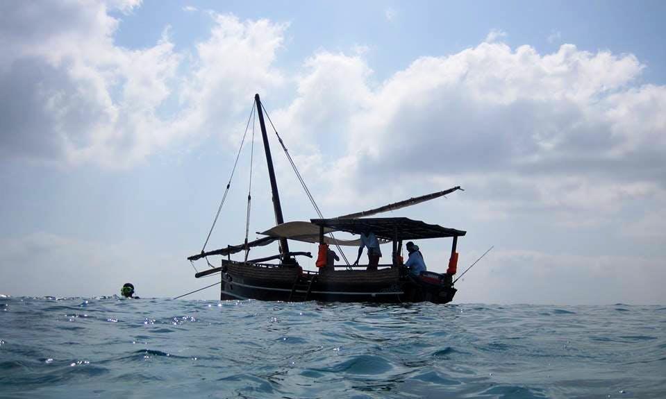 Charter a Traditional Boat in Kilifi County, Kenya