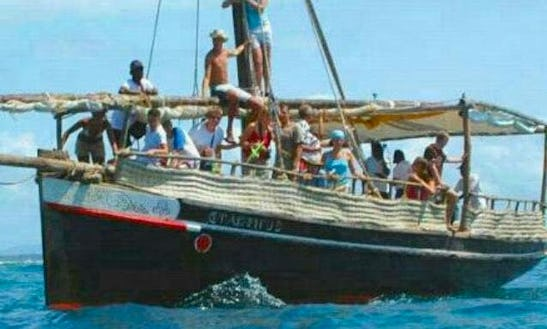 Charter A Dhow Boat In Diani , Kenya