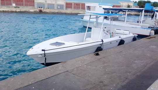 Center Console Boat Rental In New Providence, The Bahamas