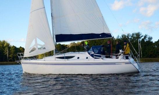 Maxus 33 White Sailing Monohull Charter In Węgorzewo