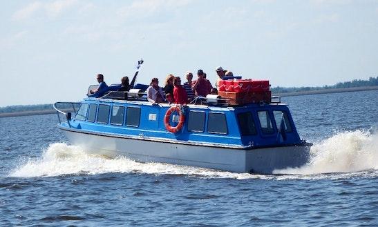 Charter M / L A Comet Motor Yacht In Tartu, Estonia