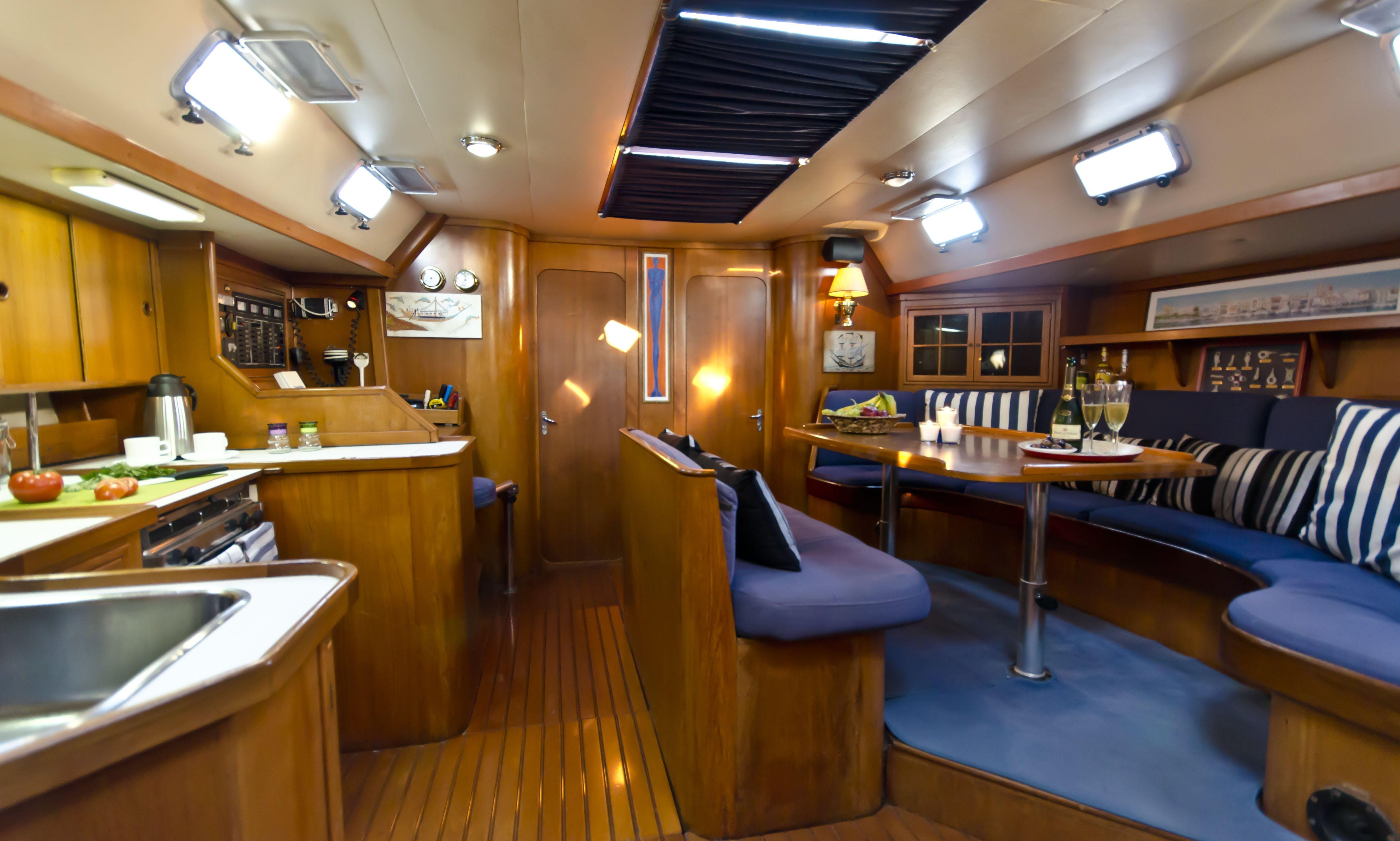 """Lena 2'' J&J 57ft All Inclusive Crewed Charters, Corfu, Greece"