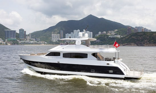 Sleek Western Cruiser - Seadancer Motor Yacht For 50 People In Hong Kong Island