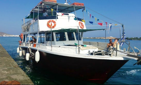 Charter A Passenger Boat In Antiparos, Greece