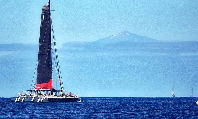 Charter a Cruising Catamaran for Big Groups in Mogán, Spain