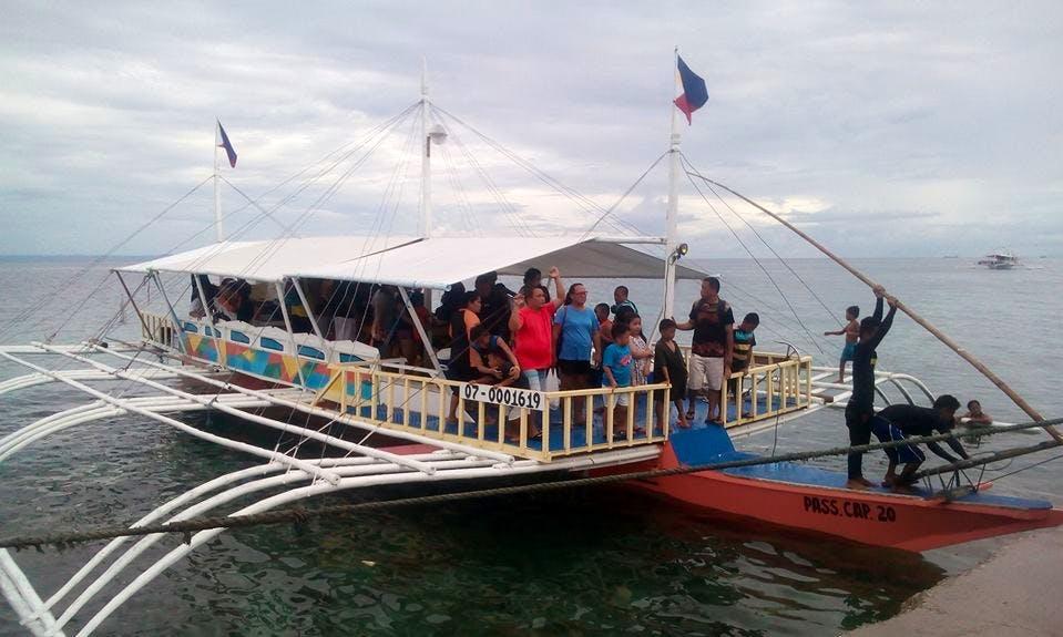 """Traditional """"Cebuano"""" Boat in Cordova, Philippines"""