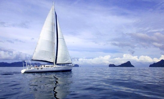 45ft Cruiser Yacht For Rent With Skipper In El Nido