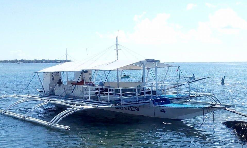 20 Person Traditional Boat Charter in Cordova, Philippines